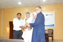 Mr. Asif Munawar is receiving RTI Champions Award 2017 in citizen category