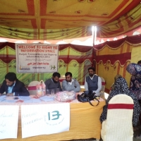 RTI Stalls By Bunyad Literacy Community Council <br>dated: 11-12-2014