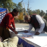 RTI Stalls by Roshni Welfare Organization <br> dated: 04-12-2014