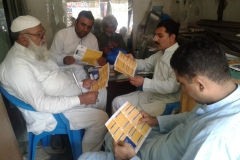 United Welfare Organization Rawalpindi  distributed RTI brochures in gen...