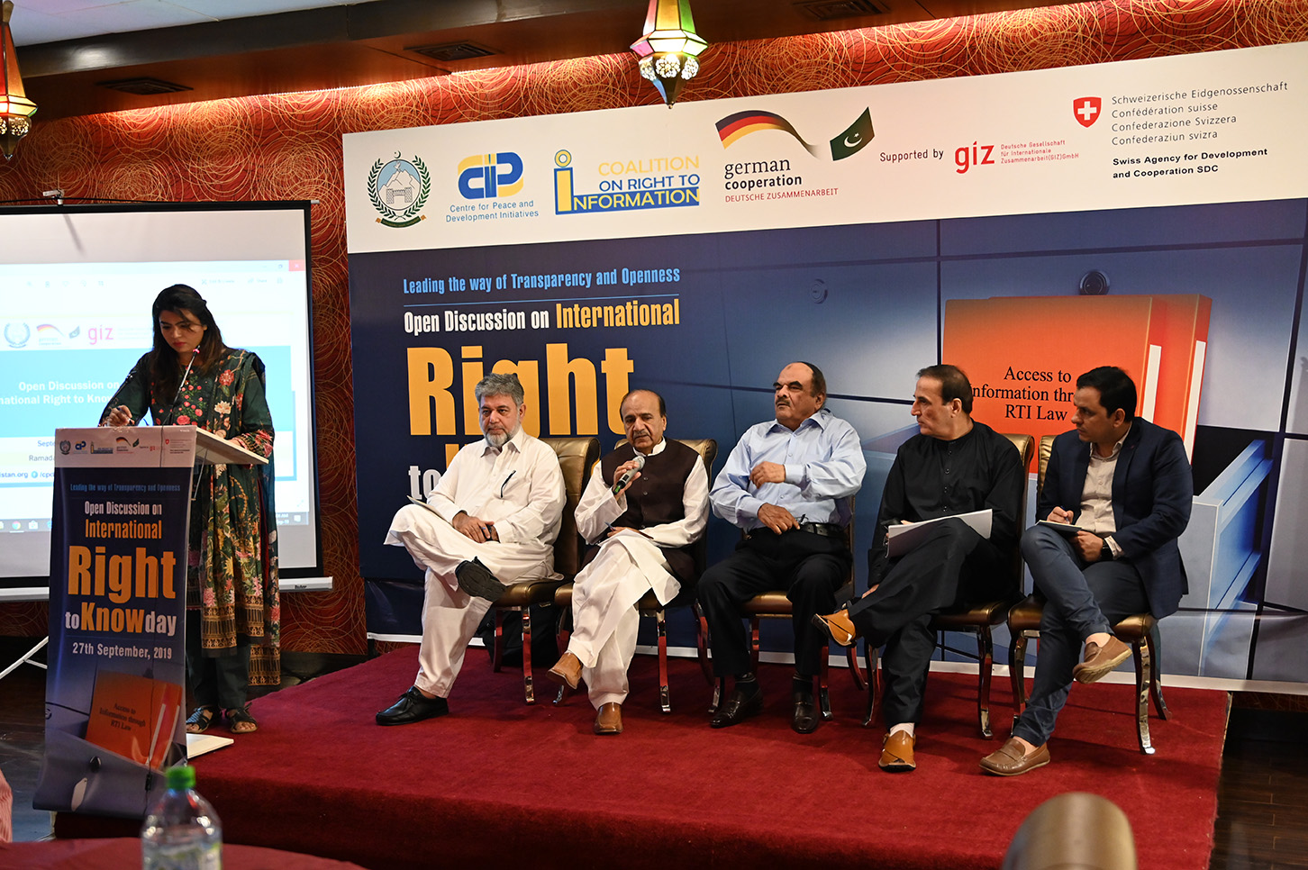 Topics like designation of PIOs, awareness about RTI, proactive disclosure were discussed in details