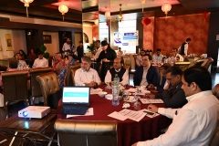 Representatives from Commissions, civil society and media were present